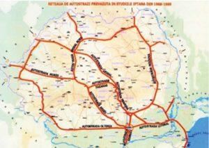 harta autostrazi