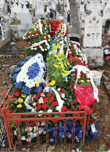 Marcel Catinca - cimitir