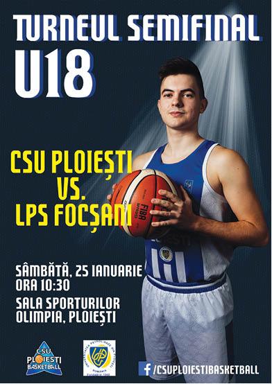afis CSU Ploieşti Basketball