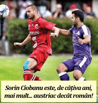 fotbalist Sorin Ciobanu